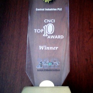 CNCI Top 10 Award 2017 (Extra Large Manufacturing)
